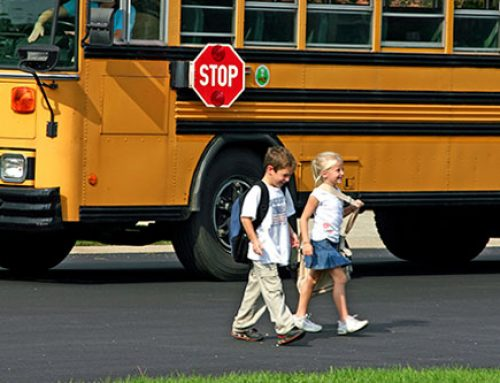 Here Come the Yellow School Buses